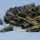 "Dispensing Needle 22 ga 0.020id x 1/2"" Tip Black 50 pcs"