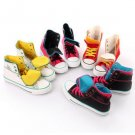 Women shoes High top multi color Canvas sneakers