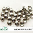 100Pcs 10mm Silver round Rivet STUDS