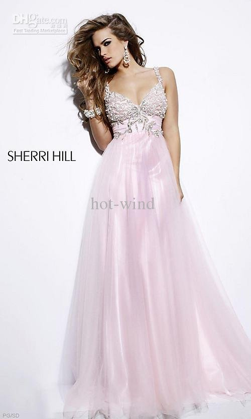 2011 New arrival Hot sale Refund Guarantee Prom Dresses Organza Prom Dresses