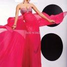 2011 New arrival Hot sale Fuchsia Prom Dresses Sheath Chiffon Prom Dresses