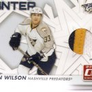 2010-11 Donruss Boys of Winter Threads Prime #67 Colin Wilson