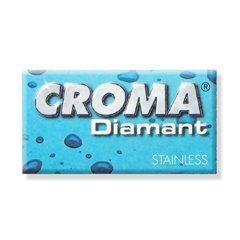 10 PACK x CROMA DIAMANT DOUBLE EDGE SAFETY RAZOR BLADE