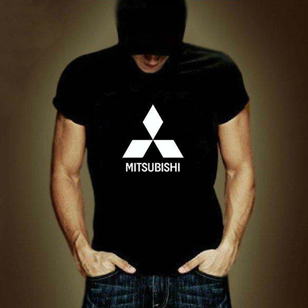 Buy 100 Cotton Car Logo Mitsubishi Letter T Shirt Men Clothing Funny T shirt Man Tee Shirts Street