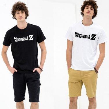 Buy Dragon Ball Z Letter Print T shirt Black Tshirt Boy Tee Swag Mens Clothes Summer Style Dragonba