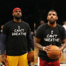 Buy Lebron James Kyrie Irving Style I Cant Breathe Letter Print T shirt Black Fashion Novelty Tshir