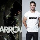 Buy Mens White Black Oliver Green The Arrow Letter Print T Shirt Men Novelty Tshirt Skate Clothing