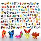 Buy 144PCSLot 2 3CM Pokemon Figure Toys different Styles New Cute Cartoon Monster model Pikachu Sup