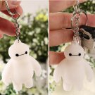 Buy 2 Pcslot! Big Hero 6 Baymax Anime Key Chain Head Moving Cute Action Figure Toy Pendant Keychain