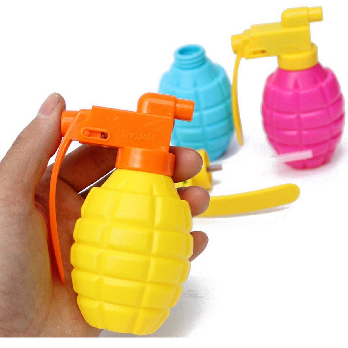 Buy Cool! Creative Hand Grenade Water Gun DIY Small Toys Wholesale Summer swimming Outdoor Shooting