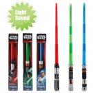 Buy 81cm Star Wars Telescopic LightSound Lightsaber Darth VaderAnakinObi Wan Light saber Action Fig