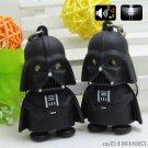Buy New Hot!Free Shipping 5cm Star Wars Force Awakens Darth Vader Pendant Keychain LED Light Figure