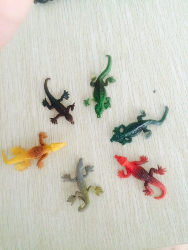 Buy gecko lizard simulation soft TPR cartoon props eggshell Creative Toys 6cm from Reliable toy rev