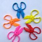 Buy 5pcslot Colour Rubber Scissors Tools Toys Fimo Polymer Clay Intelligent Plasticine Tool Playdou
