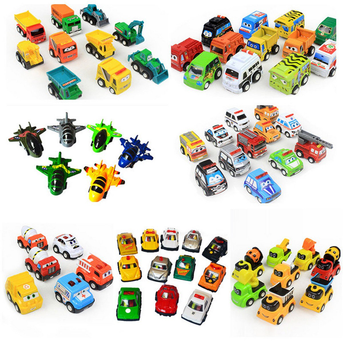 Buy 6 12pcslot Pull Back Car Toys For Baby Children Racing Car Brinquedos Mini pull back Cars Truck