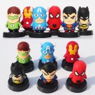 Buy 6pcslot The Avengers Q Version Figures Toy Iron Man Cellphone Strap Captain America Spider Man