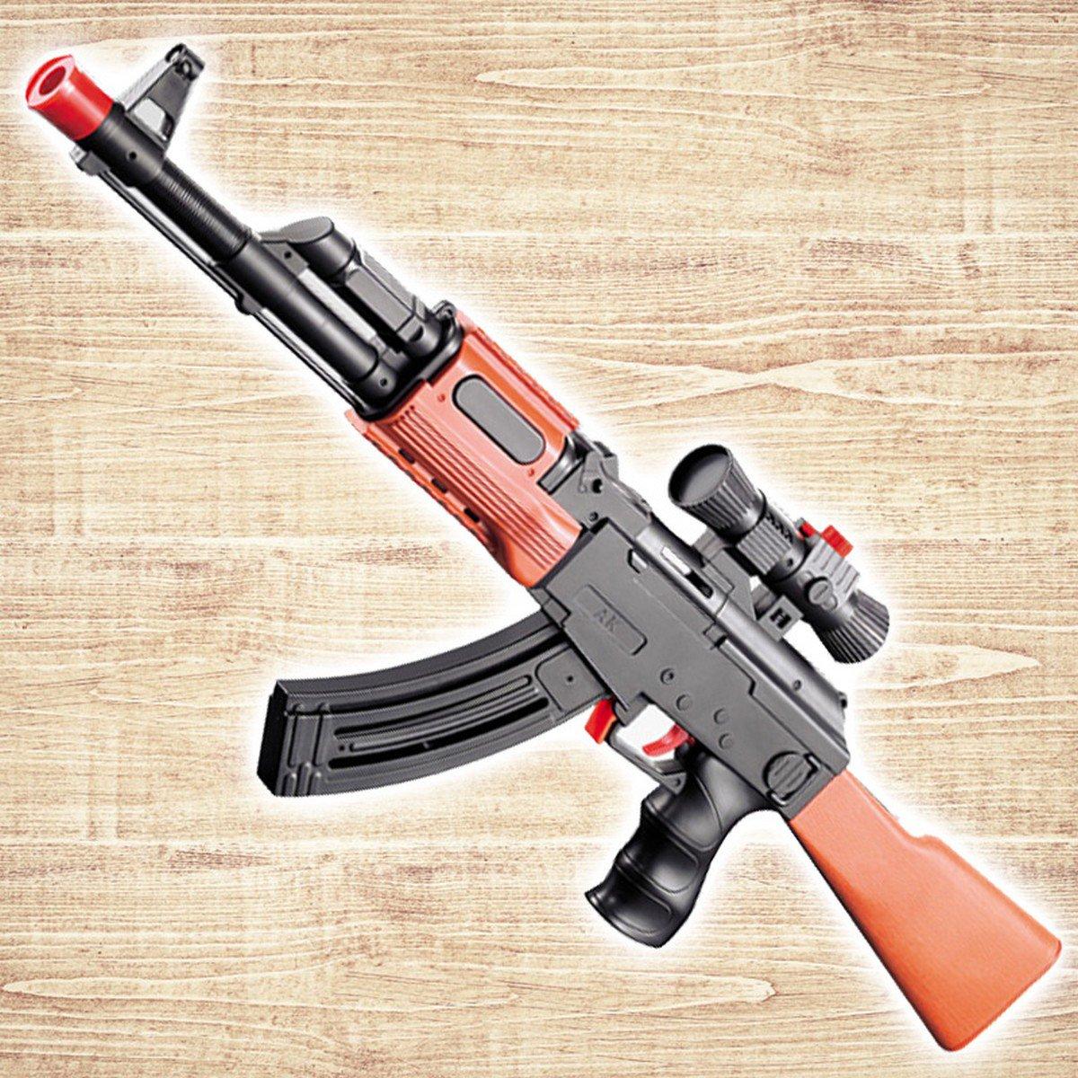 Buy Far Range AK 47 Toy Submachine Gun Soft Bullet Water Crystal Bullet Pistol Gun Airgun For Kids