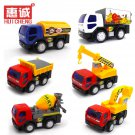 Buy 6 colour City truck model  classical Diecast Toy Car chirdrens toys no box 11cm free shipping