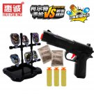 Buy High Quality Pump Pistol Airsoft Nerf Airgun Gun With Target  Soft Bullet  Water Crystal Bullet