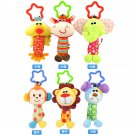 Buy Hot Sale New Infant Animal Toys Mobile Baby Plush Toy Bed Wind Chimes Rattles Bell Toy Stroller