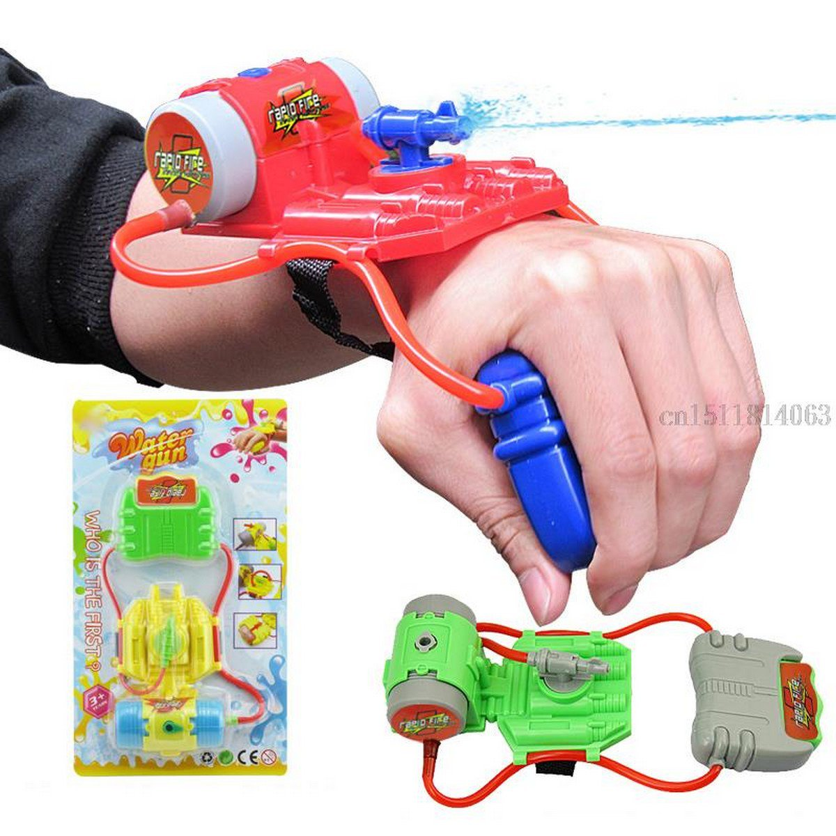 Buy New Creative Wrist Water Gun Children Summer Swimming Beach Toys Hot Selling Toys Wholesale fro