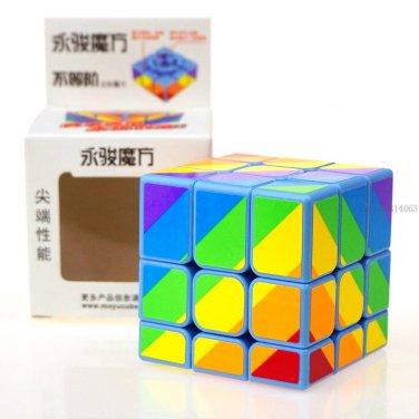 Buy New! Yongjun 3x3x3 Colour Magic Cube Professional Third order cube magic Puzzle Cubes Kids Toys
