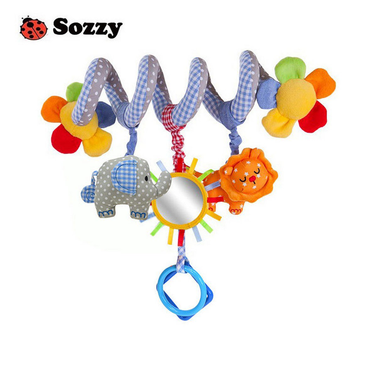 Buy Sozzy Newborn Baby Stroller Toys Elephant Lion Model Baby Bed Hanging Educational Rattle Toys W