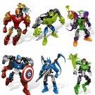 Buy The Avengers Super Hero Iron Man Captain America Batman Hulk toysChildrens educational building