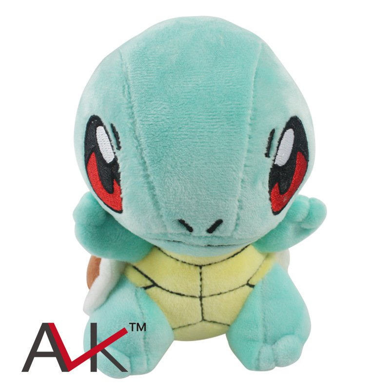 Buy Cute Pokemon Center Squirtle Stuffed Plush Doll Mini Figure Minifigures Anime Pokemon  Figure T