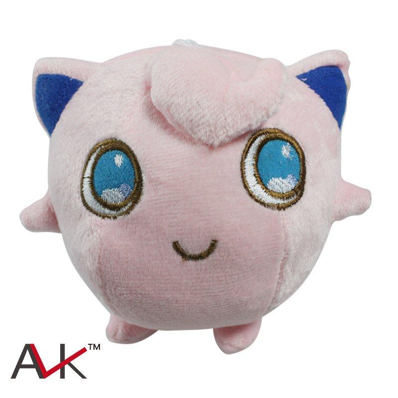 Buy Cute Pokemon Center Jigglypuff Stuffed Plush Doll Mini Figure Minifigures Anime Pokemon  Figure
