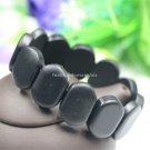 Buy 100 Top Quality Real Jade Black Natural Bian Stone Bracelet Black Bracelet For Men Women health