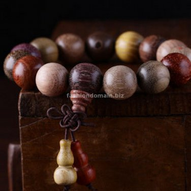 Buy Fashion 13MM Round Mixed Petrified Wood Natural Sandalwood Rosewood Door Frame and so on,Beads