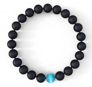 Buy Mens Water Drop Bracelet   Semi Precious Natural Stones 8mm   Handmade Genuine Quality Agate Br