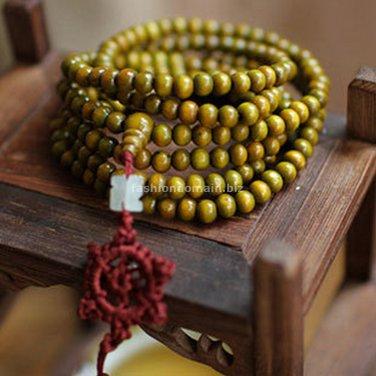Buy Fashion Natural Wood Sandalwood Buddha Bracelets  Bangle Men and Women Religion Charm 6MM Beads