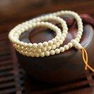 Buy Wholesale Tibet Jewelery Imitation hippo teeth White Multiturn Buddha Bracelet 6mm Men  Women G