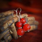 Buy Wholesale Tibet Jewelery Refinement Onyx Shambhala Gourd Pendant Tibetan silver Earring Women G