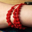 Buy  New Arrival Fashion Charm Bracelet Bohemian Red line Handwork Weave friendship Bracelets for W
