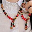 Buy Fashion Bracelets for Women Bodhi Agate Coconut shell Turquoise Coloured glaze Wood Beads Neckl