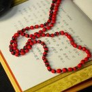Buy Fashion Natural Beads Cotton Necklace Women Red Gift Personality Handmade Temperament Wholesale