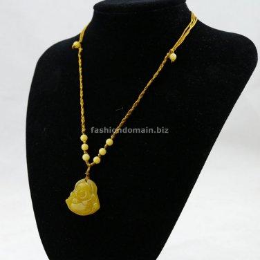Buy Original Natural High Quality mystic Topaz Buddha Pendant   Oriental Charm Handmade Beads Chara