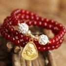 Buy  Fashion Summer New Ethnic Jewelry Original Woman Bracelet Agate Shambhala Multilayer Beads Bra