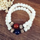 Buy Buddha Beads Bracelets Bangles Natural Stone with Seed Bodhi Charm Bracelets For Women and Men