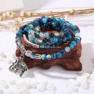 Buy Natural Crystal Blue Exquisite Elephant Pendant Multi Thai Amulets Natural Stone Ball Beaded Br