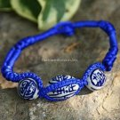 Buy New! ! Wholesale Tibetan Blue Ceramics Bead Weave Bracelets Women Gift Handmade Charm Ethnic Sh