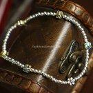 Buy Silver Beads Jewelry Flower Charm Bracelets  Bangles for Women Silver European Beads Women Brac