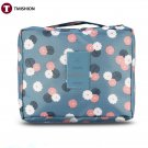 Women Zipper Makeup Bag Travel Cosmetic Case Portable Toiletry Pouch Make Up Organizer Lightweight