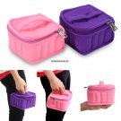16 Bottles Collision proof Essential Oil Bag 51015ml Double Zipper Carrying Storage Case Travel Oil