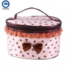 Clearance Mini Dotted Women Multifunction Travel Cosmetic Bag Makeup Case Pouch Toiletry Organizer
