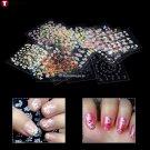 30 Sheets Mixed Design Nail Art Manicure Tips Polish Stickers Decals Decoration Nail Art Tool Nail