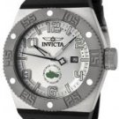 Invicta Men's Force Silver Dial Black Polyurethane